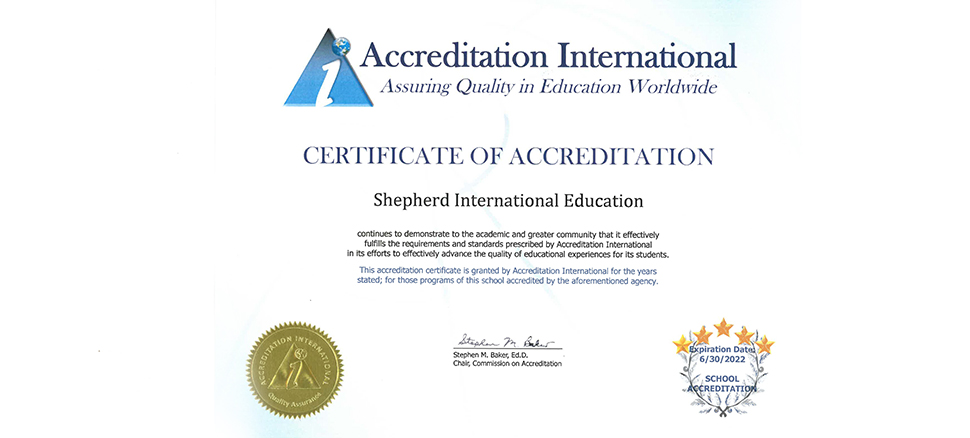 Accrenditation International